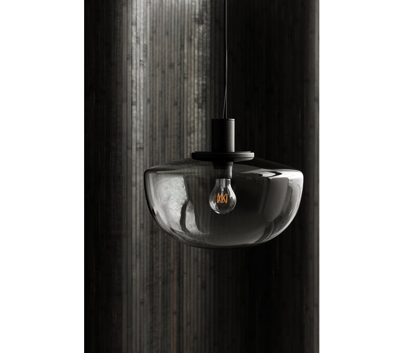 MENU Bank Pendant Hanglamp Smoked Glas