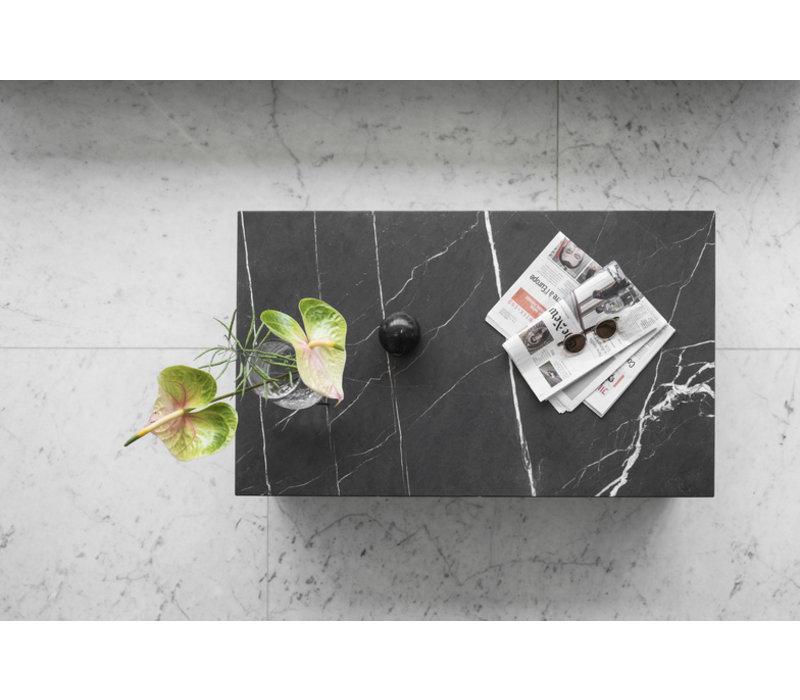 MENU Plinth Low Salontafel Black Nero Marquina