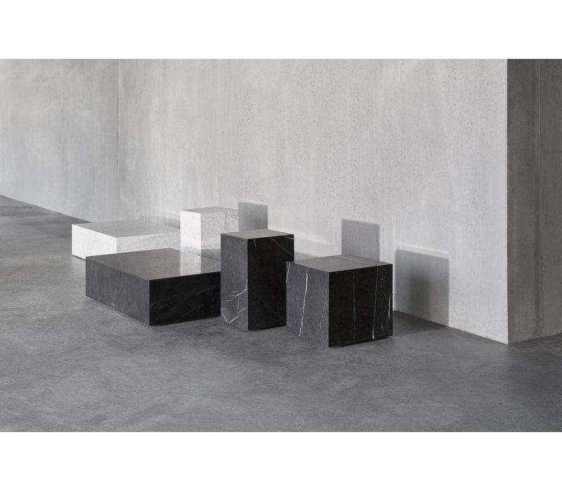 Menu Plinth Low Salontafel White Carrara