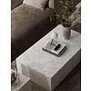 MENU Menu Plinth Low Salontafel White Carrara