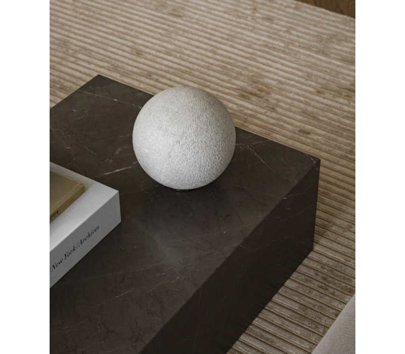 Menu Plinth Low Salontafel Grey Brown Kendzo