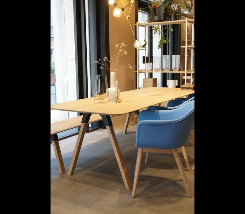 Arc Design Eettafel White Oil Eiken 200 x 90