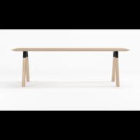Arc Design Eettafel White Oil Eiken 220 x 90cm