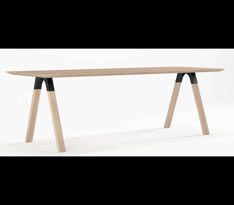 Arc Design Eettafel White Oil Eiken 260 x 90cm