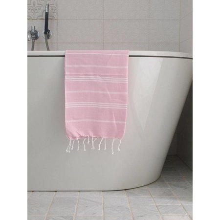 Ottomania hammam handdoek Ottomania 50x100cm roze