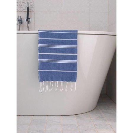 Ottomania hammam handdoek Ottomania 50x100cm parlementblauw