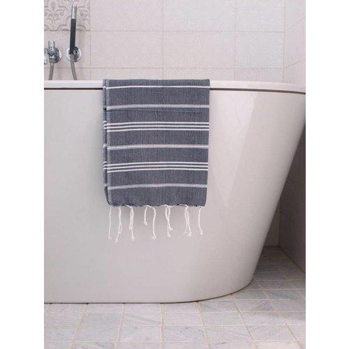 Ottomania hammam handdoek Ottomania 50x100cm marineblauw