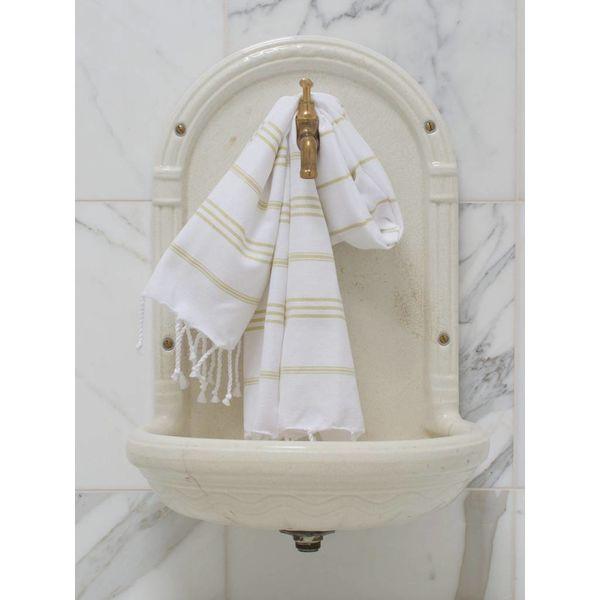 hammam handdoek Ottomania 50x100cm linden - kleine hamamdoek