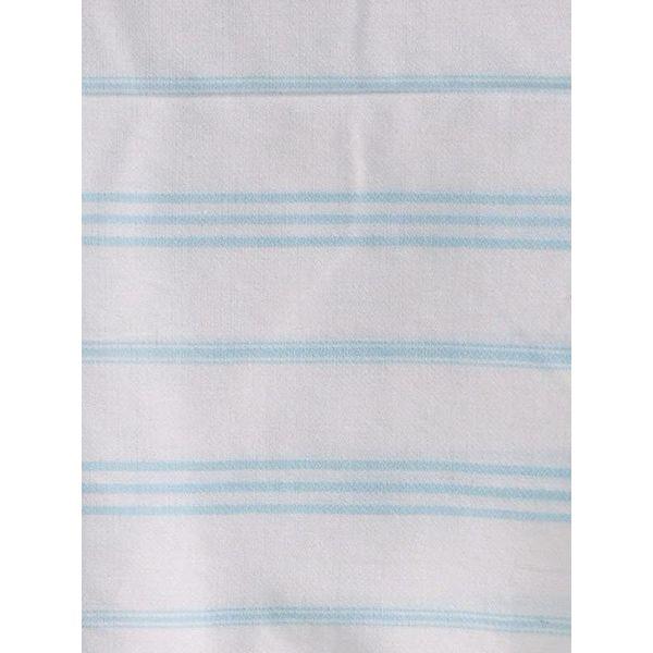 hammam handdoek Ottomania 50x100cm lichtturquoise - kleine hamamdoek