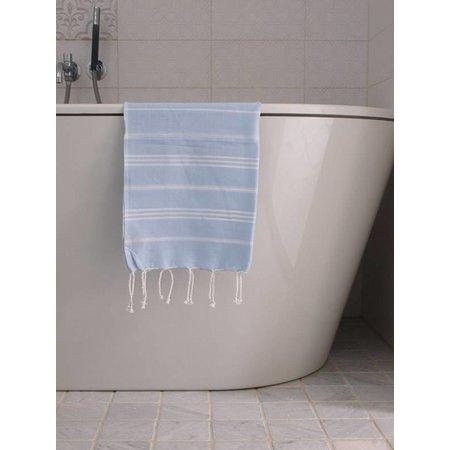 Ottomania hammam handdoek Ottomania 50x100cm lichtblauw