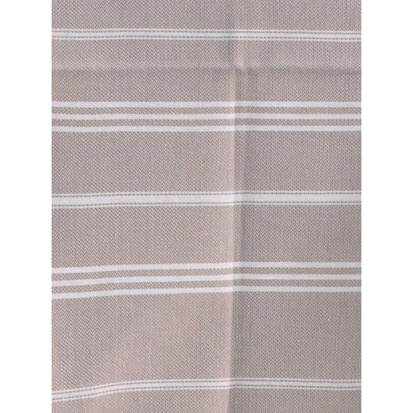 hammam handdoek Ottomania 50x100cm grijsbeige - kleine hamamdoek
