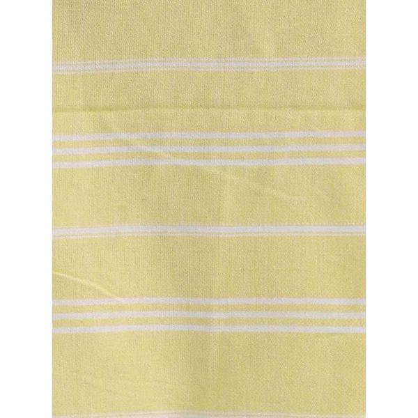 hammam handdoek Ottomania 50x100cm citroengeel - kleine hamamdoek