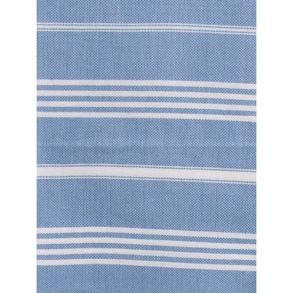 hammam handdoek Ottomania 50x100cm blauw - kleine hamamdoek