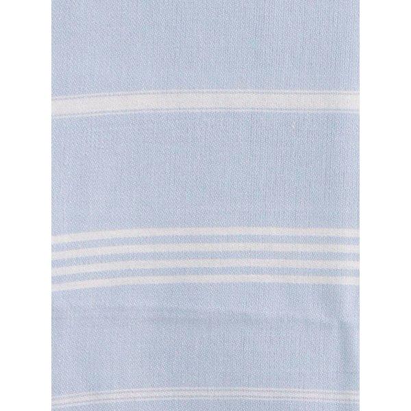 Hamamdoek Ottomania 100 x 170 cm lichtblauw - hamamdoek medium