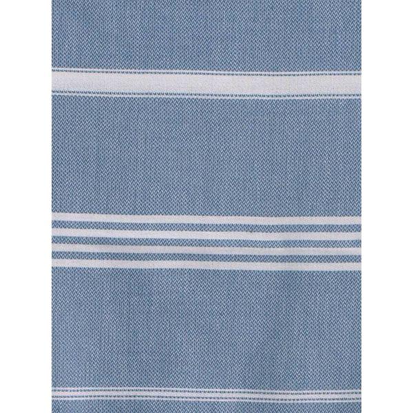 Hamamdoek Ottomania 100 x 170 cm jeansblauw