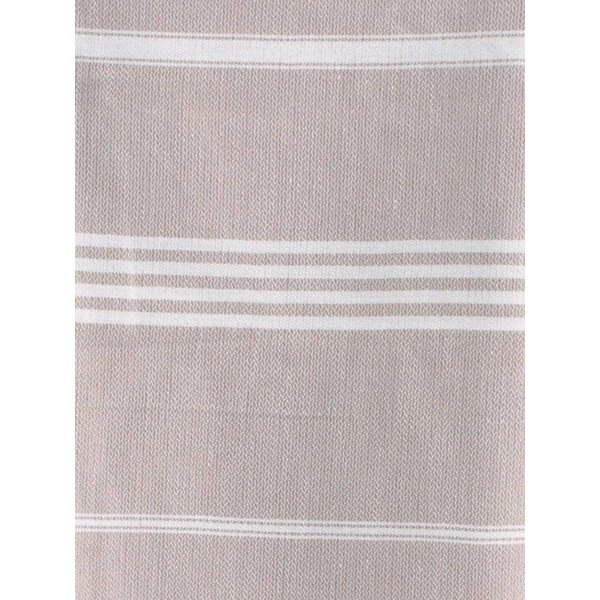 Hamamdoek Ottomania 100 x 170 cm grijsbeige - hamamdoek medium