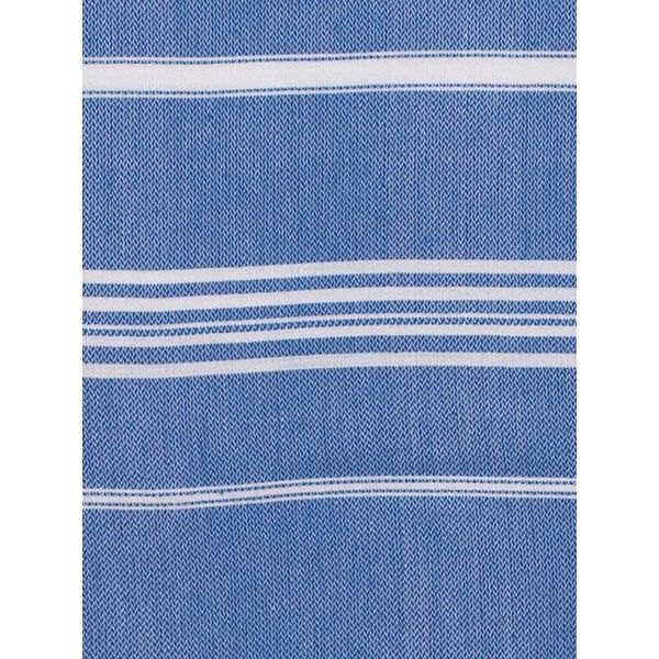 Hamamdoek Ottomania 100 x 170 cm grieksblauw - hamamdoek medium
