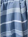 hamamdoek Ottomania 160 x 220cm marineblauw - tweepersoons xxl hamamdoek
