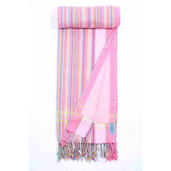 Kikoy strandlaken sweet pink 95 x 170 cm