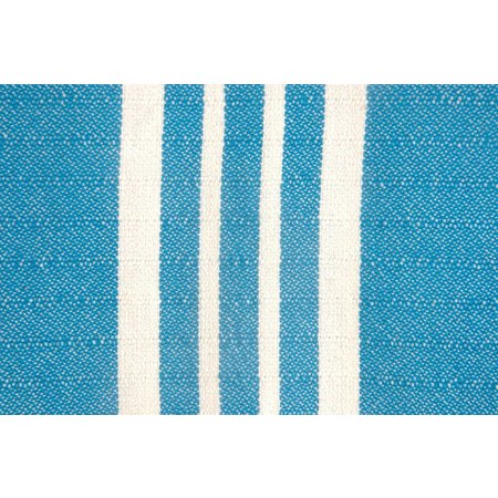 Lalay hamamdoek XL: XXL Lalay Krem Sultan Petrol Blue