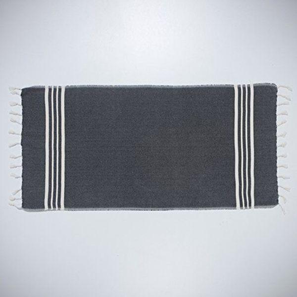 hamamdoek XL: XXL Lalay Krem Sultan Black