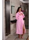 Sauna badjas roze