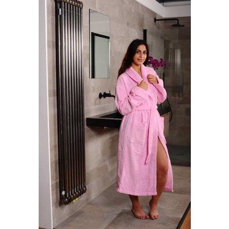 Hamams Own Sauna badjas roze