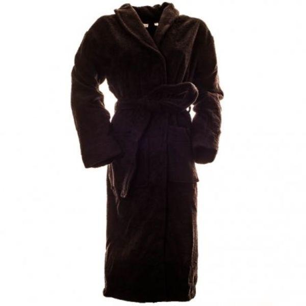 Sauna badjas zwart