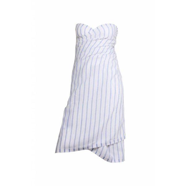Pareo handdoek: hamamdoek Aqua Streeps Blue