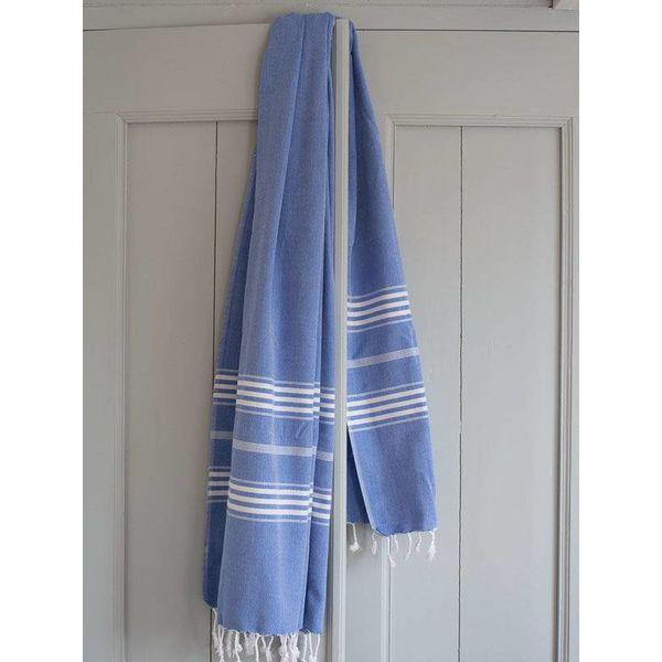 kimono hamam badjas Ottomania volwassenen grieksblauw