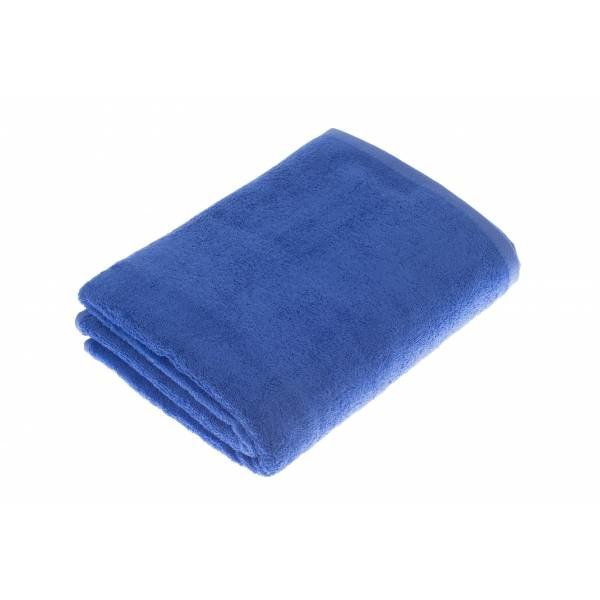 extra grote saunahanddoek blauw