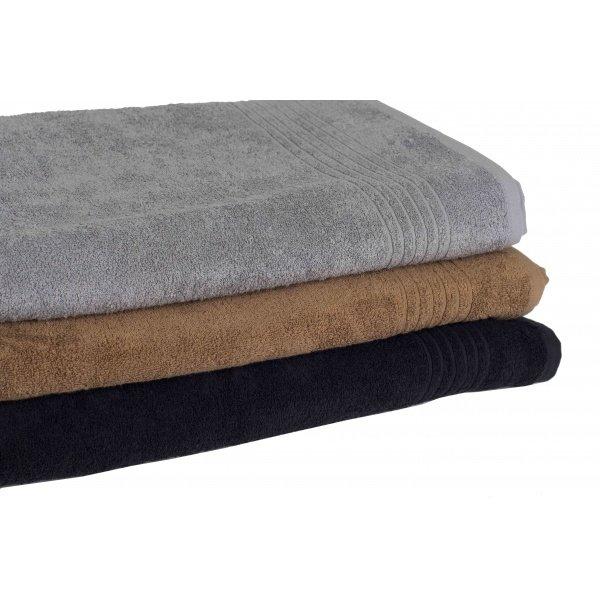 extra grote saunahanddoek grijs