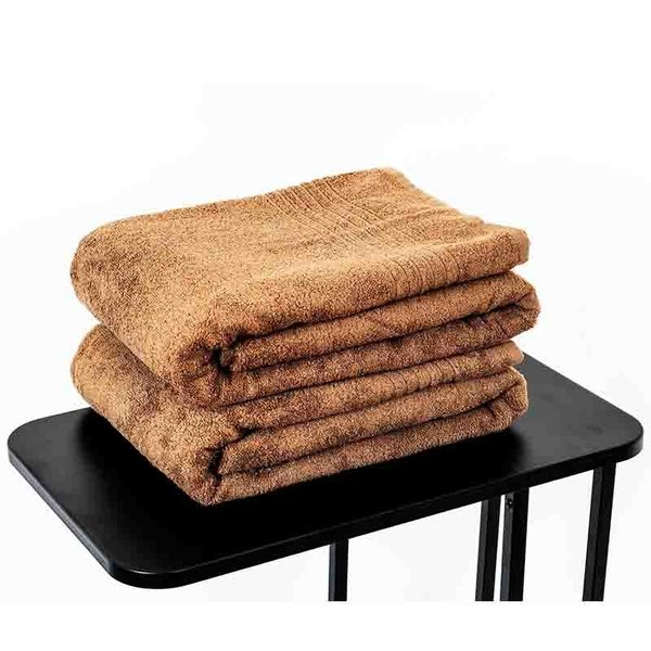 extra grote saunahanddoek bruin