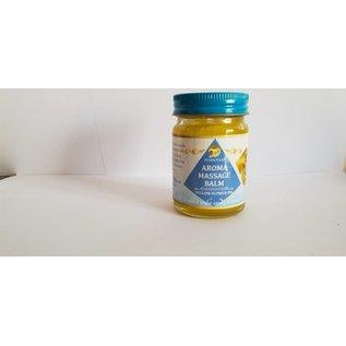 Pornthap Aroma Massage Balsem met gele bloem  olie