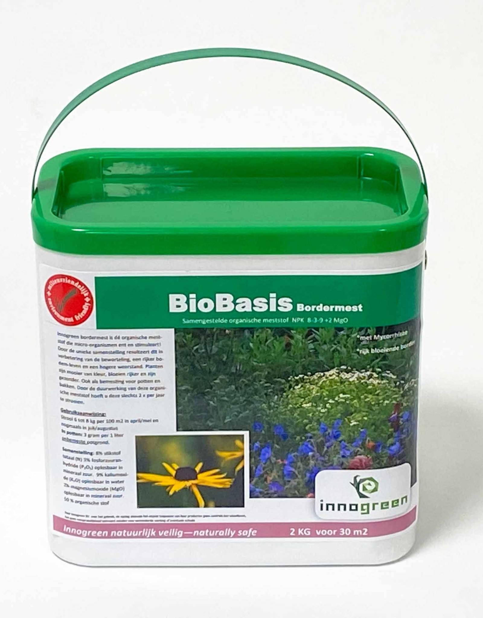Brimex Innogreen Innogreen Biobasis NPK 8-3-9 + 2 MgO verrijkt met diverse micro-organismen