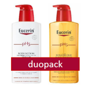 Eucerin DUOPACK pH5 Douche olie & bodylotion 400 ml