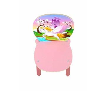 Hess Stoel Kinderstoel Eenhoorn Hout
