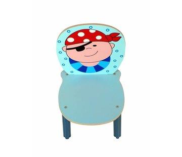 Hess Stoel Kinderstoel Piraat Hout