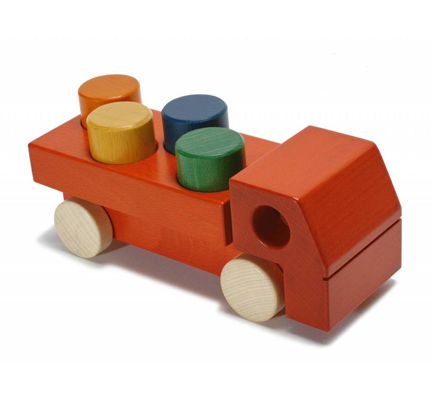 Auto Vrachtwagen Hout