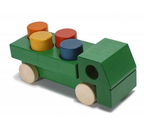 Weizenkorn Auto Vrachtwagen Hout