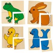 GOKI Karemo game with 5 animal designs