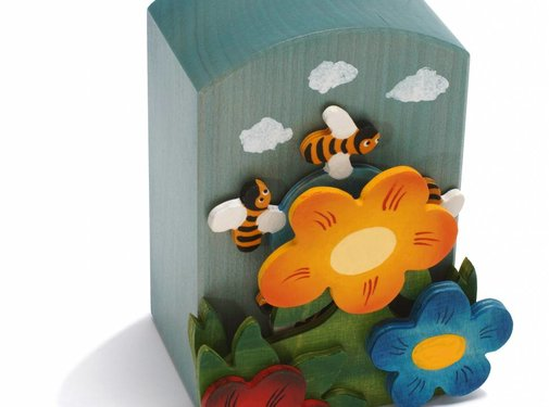 Weizenkorn Muziekdoos Bijen Hout