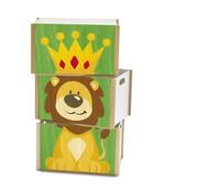 Weizenkorn Speelgoedkist Leeuw 3-delig Hout