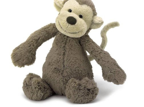 Jellycat Knuffel Aap Bashful Monkey