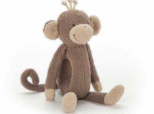 Jellycat Knuffel Rammelaar Aap Rattlering Monkey