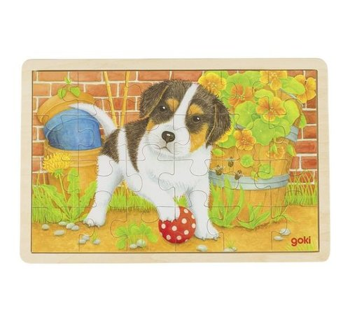 GOKI Puzzle Dog