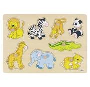 GOKI Puzzle Zoo Animals