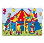 GOKI Puzzel Schuif Circus Dieren Hout
