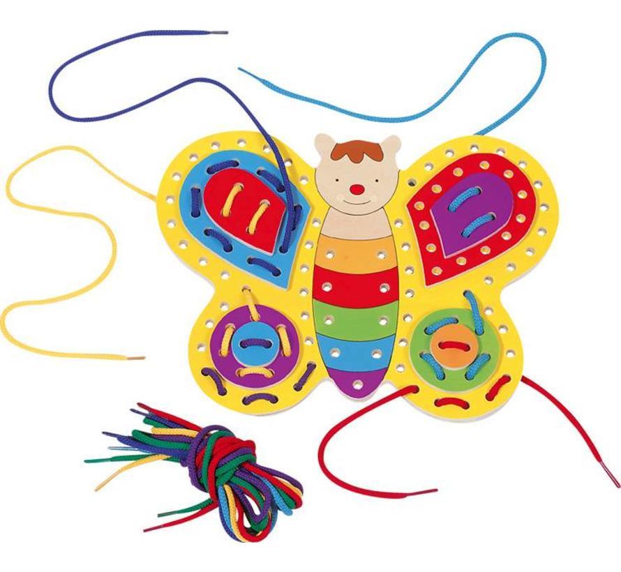 Rijgspel Vlinder