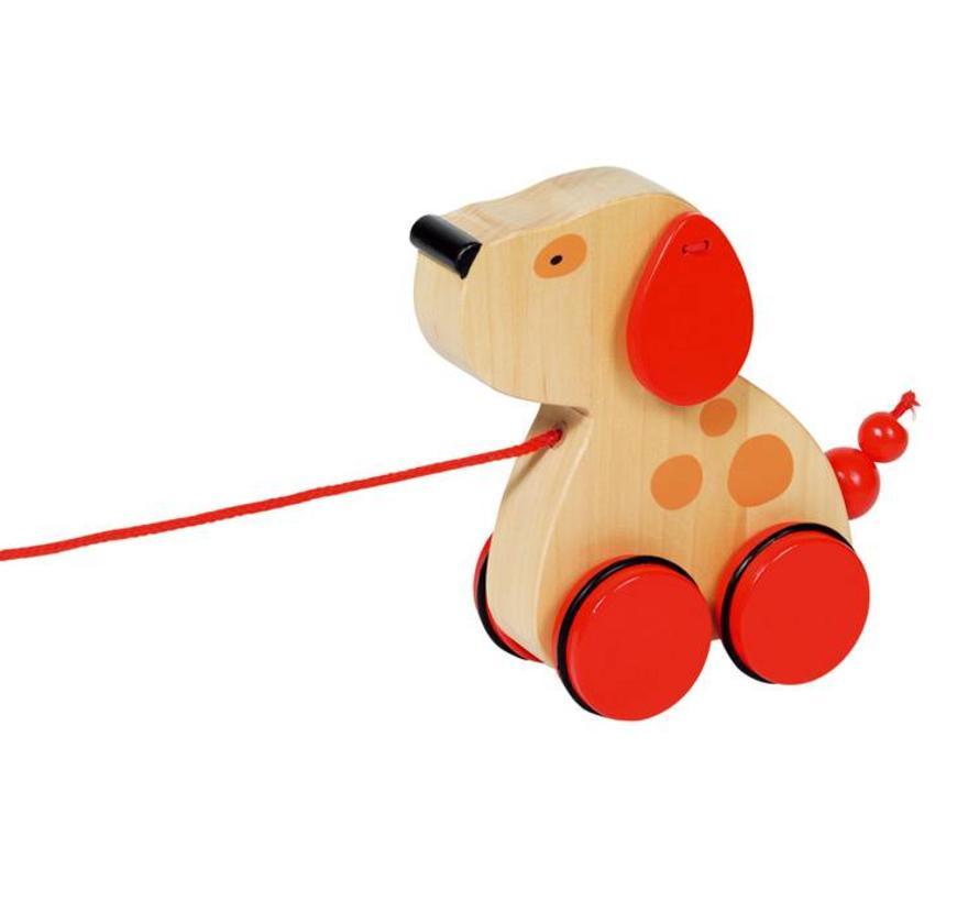 Trekfiguur Hond Luna